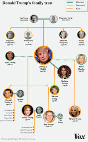 The Entire Donald Trump Family Tree In One Graphic Vox