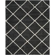 hudson dark gray ivory 9 ft x 12 ft area rug