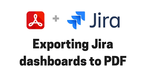How To Export Burndown Chart In Jira Exporting Jira Dashboards To Pdf
