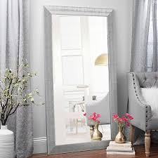 Floor Mirrors Full Length Mirror Kirklands With White Design 10