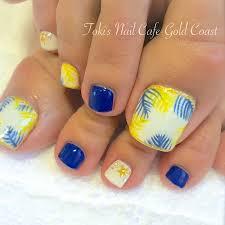ヒーリングネイルフット夏仕様 Toki Nails Gold Coast