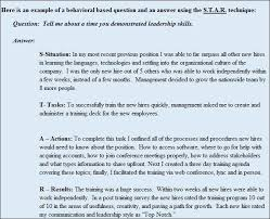 Star Interview Answers Examples Star Interview Answers Examples Hashtag Bg