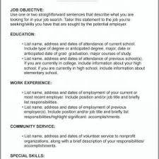 resume order of jobs careers for high school graduates sample resume format 2019