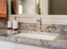 a bathroom vanity need a backsplash