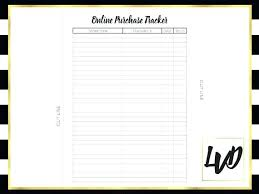 Purchase Order Database Template Excel With Log Templates C Pdf