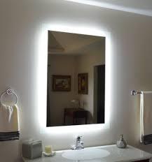 Wall mounted bathroom mirror Mirror Cabinet Lighted Wall Mounted Bathroom Mirrors Lightings Top Of2018 Lighted Wall Mounted Bathroom Mirrors Lightings Top Of 2018