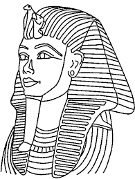 Small Picture King Tut Mask Mummy Free Coloring Page Download Print Online