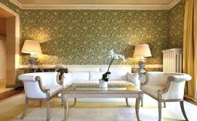 wallpaper in living room creative wall design in the living room ideas