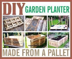 diy raised garden planter made from a