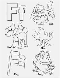 letter f coloring worksheet