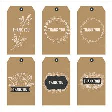 Tags For Gifts Templates Printable Thank You Tags Thank You Free Printable Tags Gifts