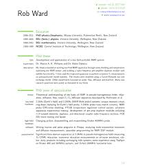 Resume Template Nz Simple Resume Template