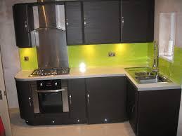 Yellow Kitchen Backsplash Lime Green Ceramic Tiles Backsplash Also Black Kitchen Cabinets