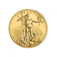 1 10 ounce gold american eagle coin front