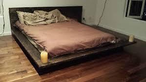 japanese bed frame. Image Is Loading PICKUP-ONLY-Fujian-Japanese-Floating-Bed-Frame-Real- Japanese Bed Frame