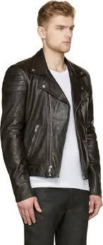 Lyst - Blk dnm Black Leather Quilted Biker Jacket in Black & Gallery Adamdwight.com