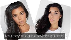 kourtney kardashian inspired makeup tutorial 2017