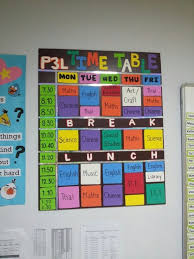 Creative Charts For School Creative School Time Table Chart Design Bedowntowndaytona Com
