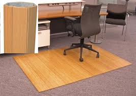 desk chair mat.  Mat AMB24014W Anji Natural Bamboo Desk Chair Mat 31500  48 X 72  12 Inch  Thick Mountain Office  With T