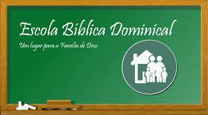 Resultado de imagem para Escola Bíblica Dominical