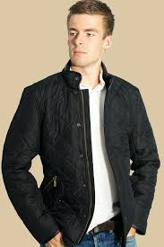 Buy your fabulous Barbour Powell Mens Black Quilted Jacket from ... & Buy your fabulous Barbour Powell Mens Black Quilted Jacket from Smyths -  Smyths Country Sports Adamdwight.com