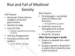 Middle Ages And Renaissance Comparison Chart Middle Ages Renaissance And Reformation Ppt Video Online