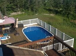 oval above ground pool sizes. Delighful Sizes Oval Above Ground Pools With Decks  Pooldecksimpressivewoodenabove Groundswimmingpooldeckswithall  On Pool Sizes E