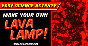 How Does A Lava Lamp Work Cool Blobs In A Bottle Make A Lava Lamp At Home Science Bob