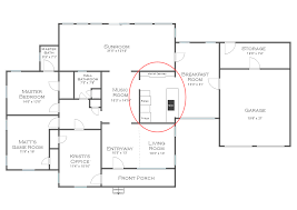 Design My Kitchen Floor Plan Full View Of The Kitchen Plus Second Guessing My Cabinet Color