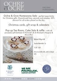 upcoming events st richard s hospice ochre ochre tea room cake pop up tea room poster