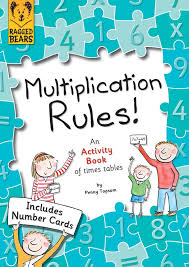 Multiplication Rules, An Activity Book of Times Tables: Amazon.co ...