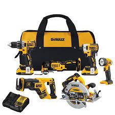 dewalt cordless tools. dewalt xr 6-tool 20-volt max lithium ion (li-ion) dewalt cordless tools m