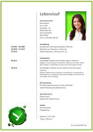 Lebenslauf Muster Word Ausbildung Best Resume Examples For Your