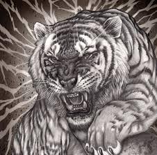 фото тату тигра 48 картинок забавник