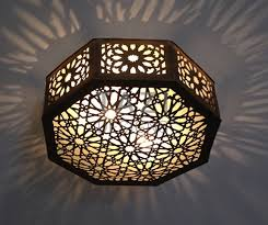 octagonal middle eastern star tazi