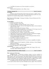 Tableau Resume In Examples Resumes For 3 Years Experience