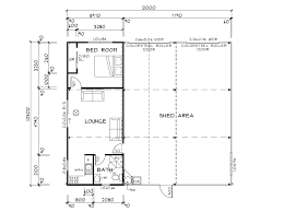 shed floor plans. Pirongia - Habitable Shed | Waikato Sheds Floor Plans