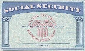 Us Passport Card Template Social Security Card Social Security If Still Working Id