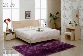Purple And White Bedroom Purple Bedroom White Furniture Homes Design Inspiration