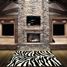 animal print area rugs home hand carved zebra skin animal print area rug leopard print area
