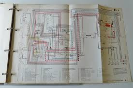 job lot of original vw wiring diagrams earlybay com forums wiring diagram vw 411 us version from 1970 38 wiring diagram vw 411 us version from 1971 39 current flow diagram vw type 4 us version from