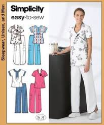 Scrub Top Patterns Custom Cute Scrub Tops Made Using Simplicity 48 Pattern Craftiness
