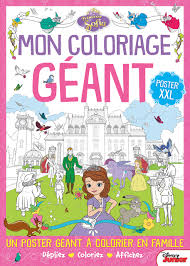 Mon Coloriage G Ant Princesse Sofia Poster Xxl Amazon Co Uk