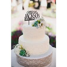 wedding cake toppers. inexpensive personalized mr and mrs monogram wedding cake toppers ewft041