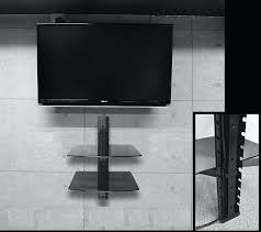 tv box wall mount 3 tier shelf box wall mount plasma led tv set top box