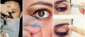 pics of quick easy makeup tricks