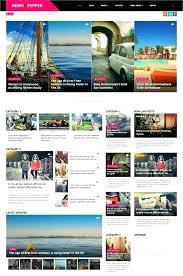 Html5 Magazine Template Companydata Co