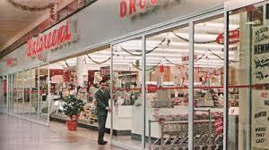 Pleasant Family Shopping Walgreens At Christmastime 1965