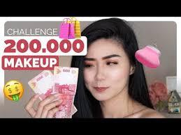 200k makeup challenge 2017 tutorial makeup murah dan bagus bahasa indonesia