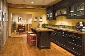 Yellow And Black Kitchen Decor White Black Range Hood Luxury Warm Wooden Bar Country Kitchen
